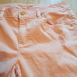 Women's Michael Kors Skinny Jean's sz 12 pink